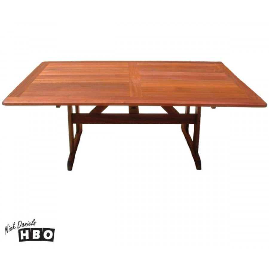 Wideboard 10setaer Merbau Dining Table