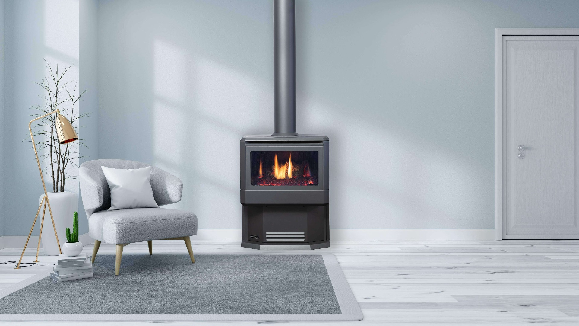 Buy Freestanding Gas Log Fires Melbourne Gas Log Heaters